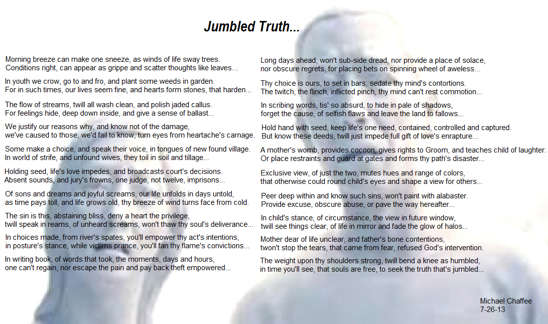 Jumbled Truth