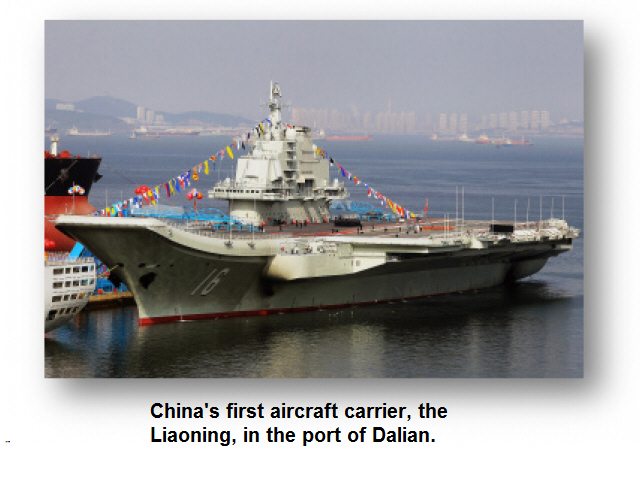 China's 1st Aircraft Carrier